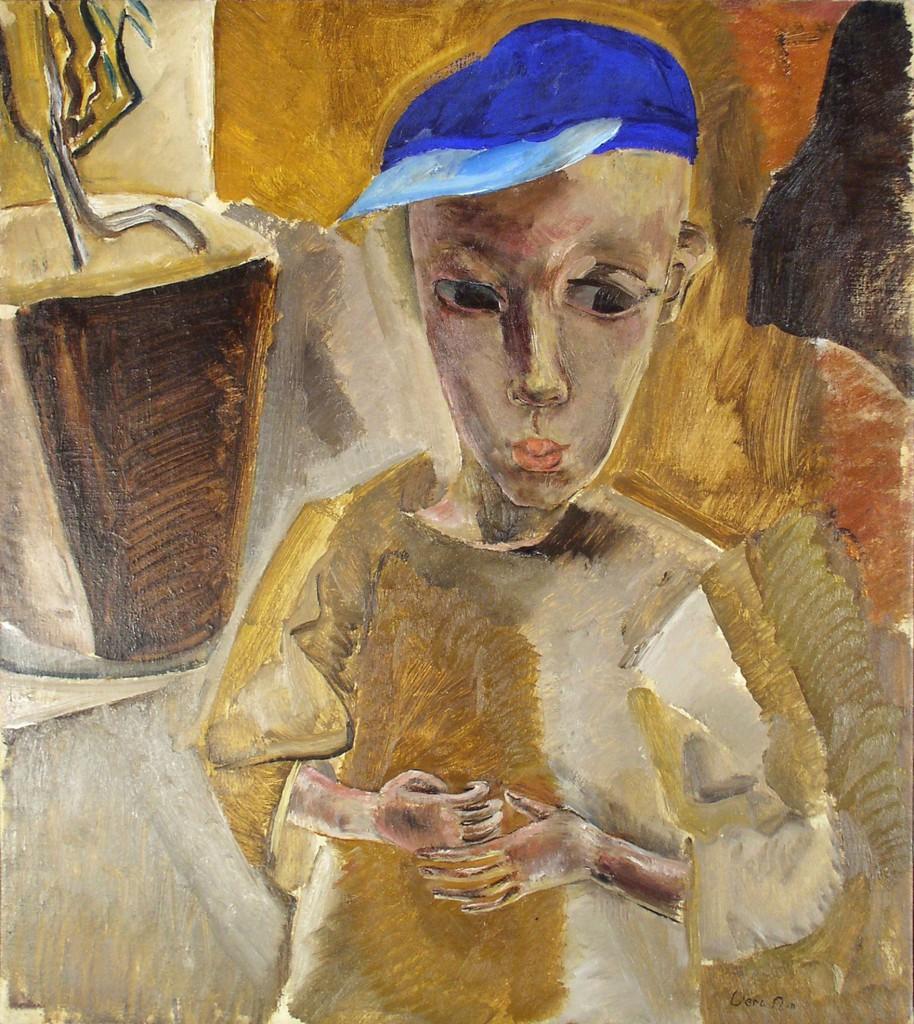Vera Nilsson,Pojke med blÜ mîssa,1918