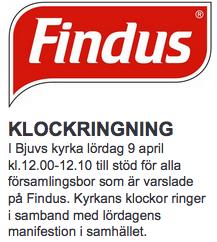 Klockringning-Findus