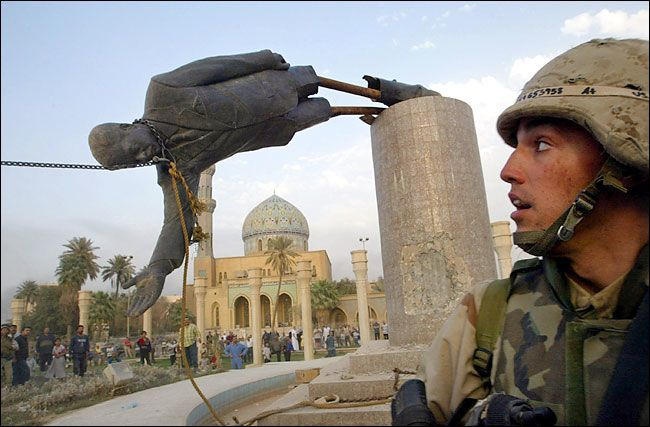 saddam hussein ruins monuments in baghdad iraq23