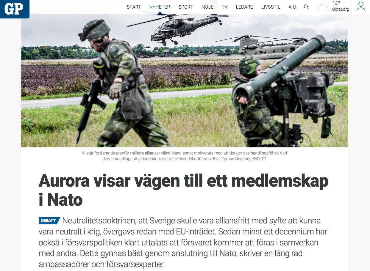 Nato kritik mot fn