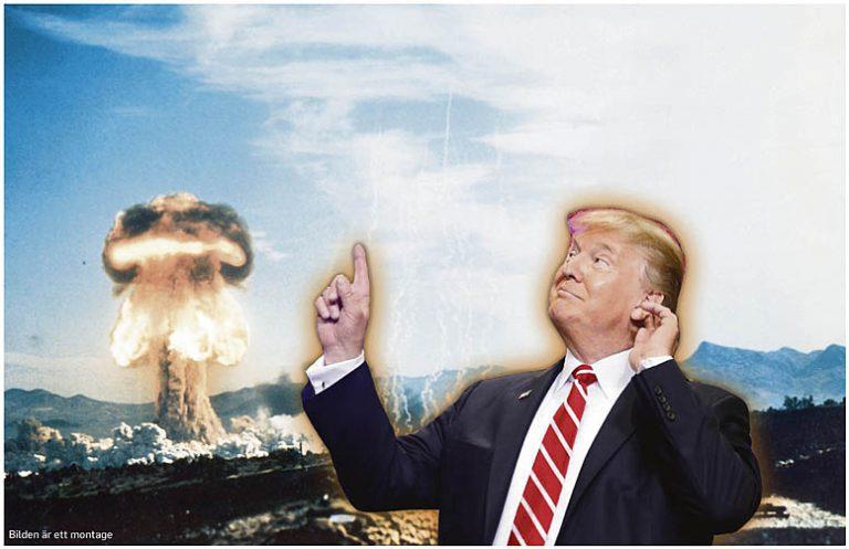 ryssland kärnvapen sverige